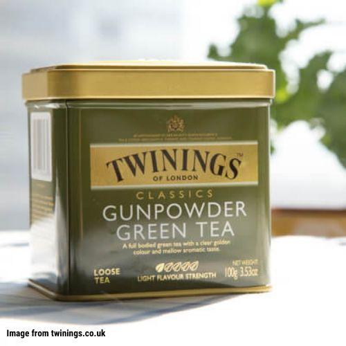 #11. Twinings Classics Gunpowder Green Loose Tea
