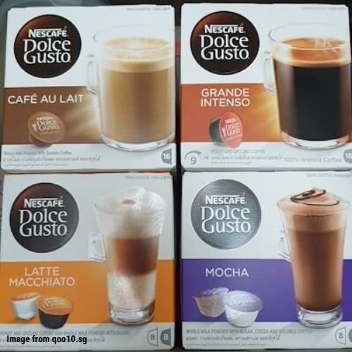 #14. Nescafe Dolce Gusto Coffee Capsules​