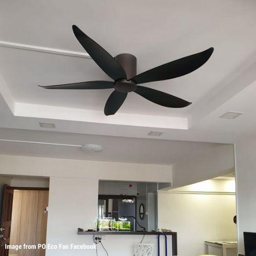 #8. PO ECO DC Motor Ceiling Fan