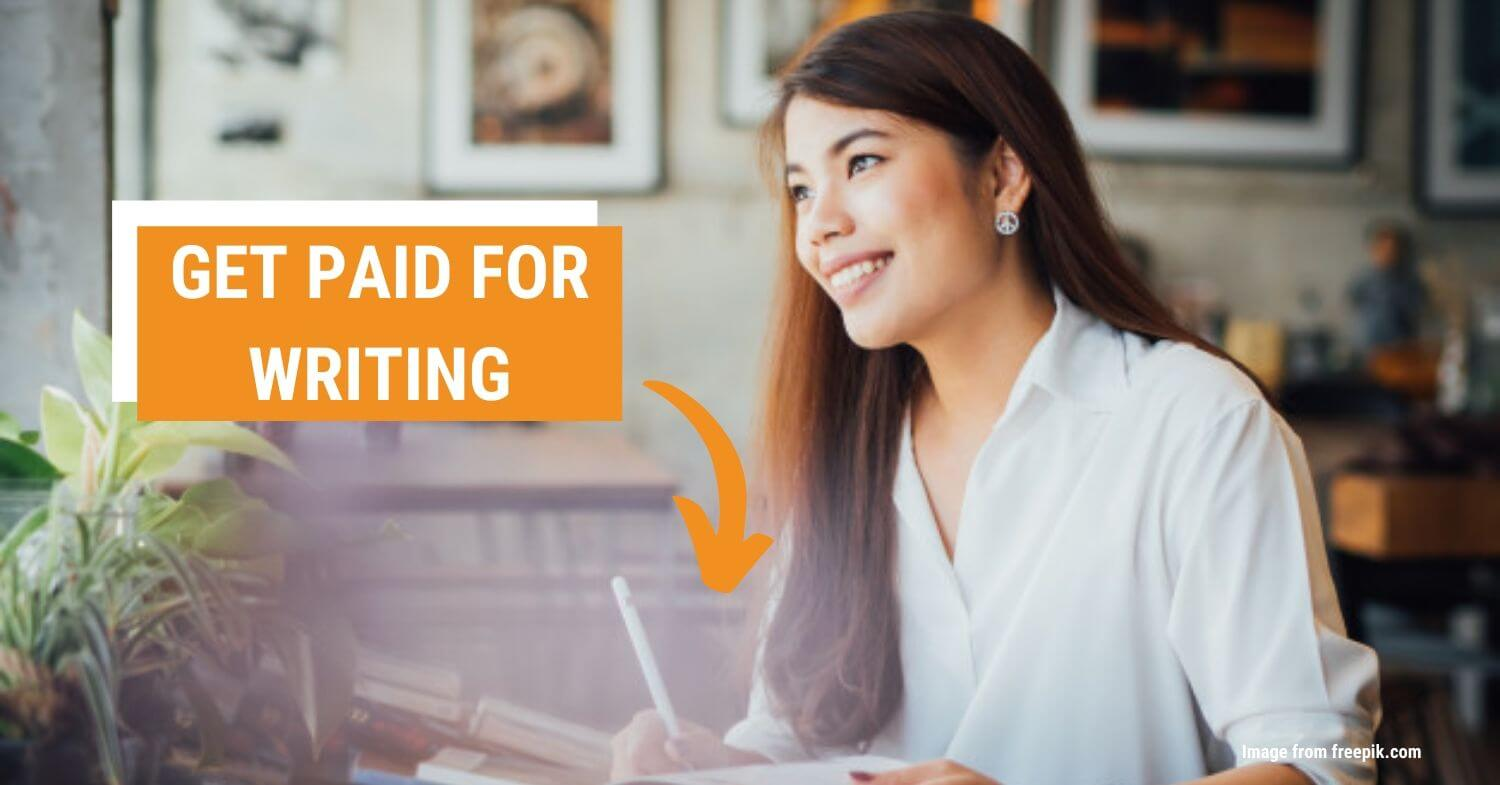 get paid for writing