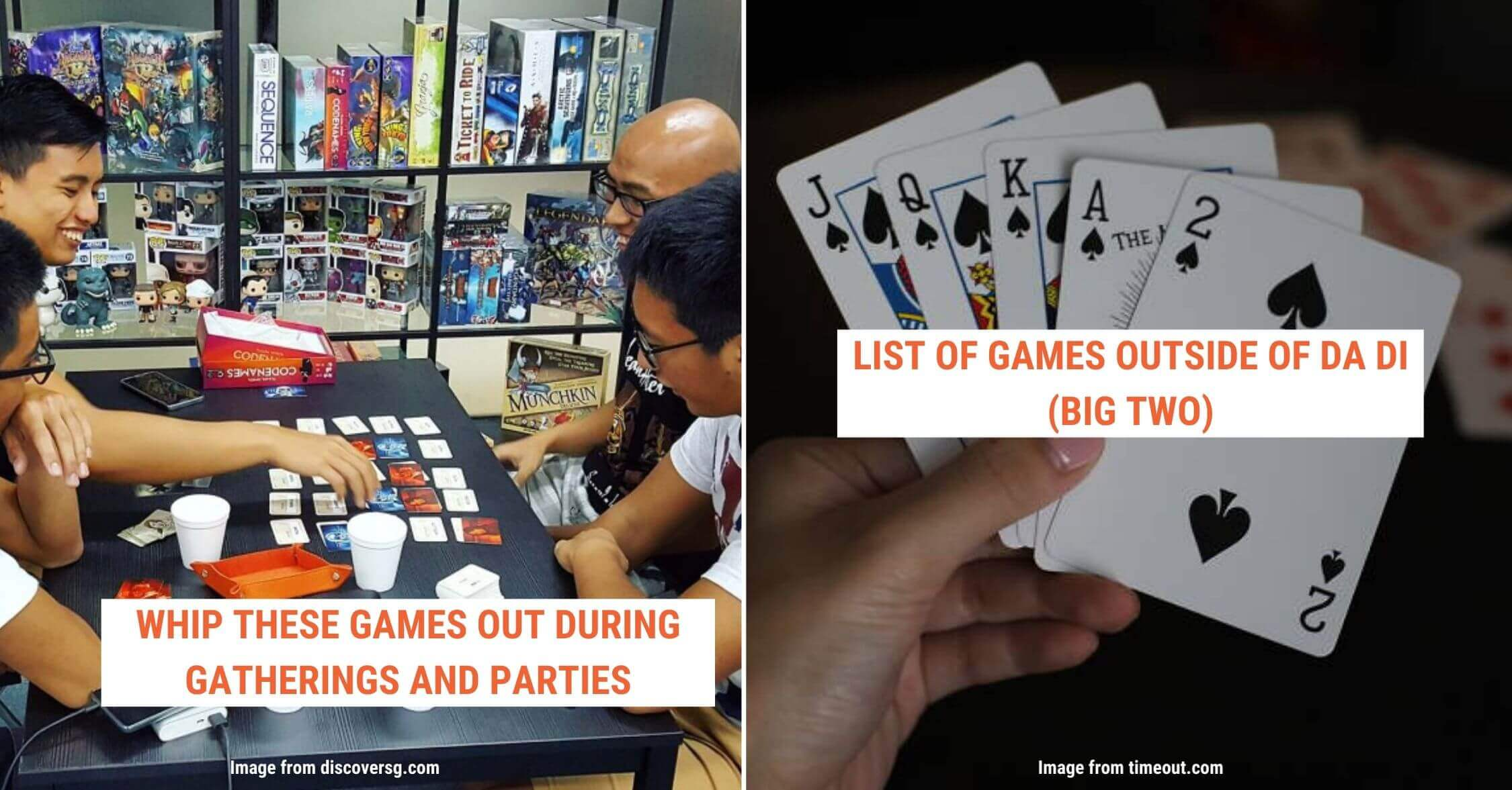whip out these card games during parties