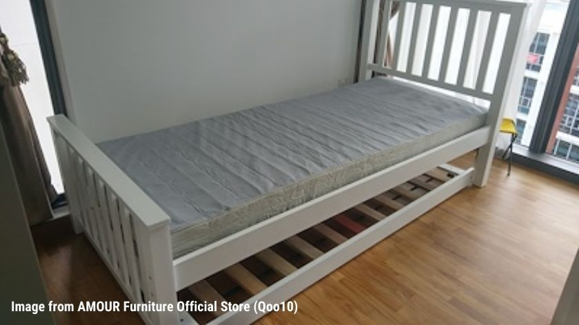 Amour Wooden Bed Frame