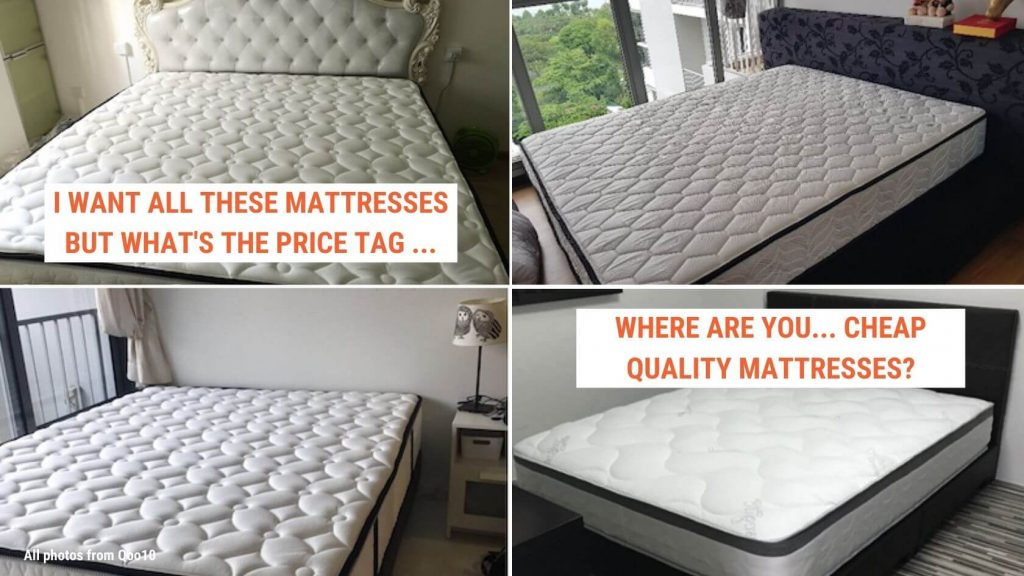 Cheap and Good mattresses in Singapore