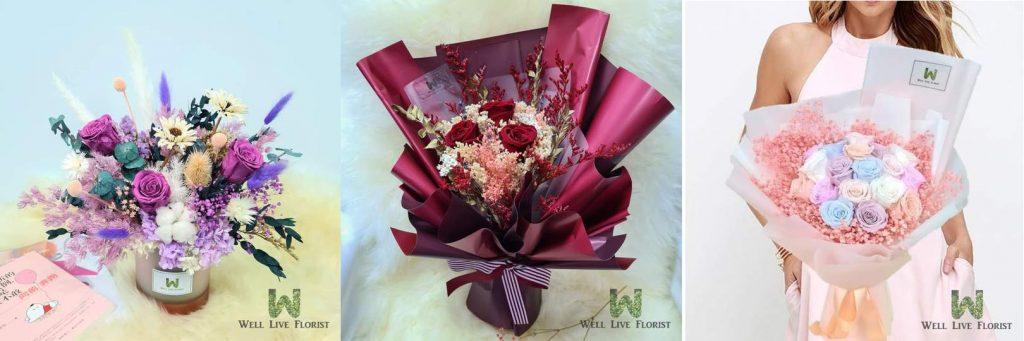 Well Live Florist Singapore Flowers